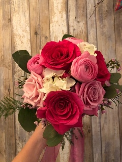 Shades of Pink and White Bouquet