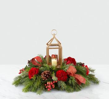 I\'ll Be Home for Christmas™ Lantern Centerpiece