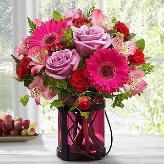 Pink Exuberance Bouquet by Better Homes and Gardens&r