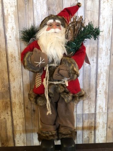 Large  snow shoe santa