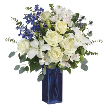 Calming Cobalt Bouquet