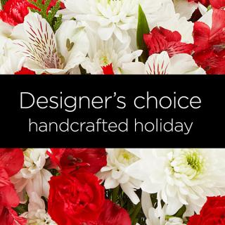 Holiday Colors Florist Designed Bouquet