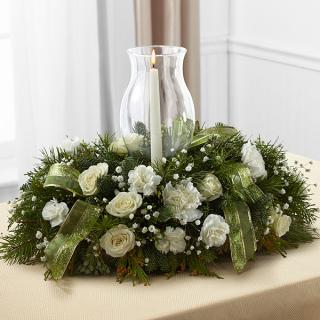Glowing Elegance Centerpiece